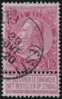 Belgie      .    OBP     .   64      .   O     .   Gebruikt   .   /    .   Oblitéré - 1893-1900 Fine Barbe