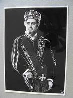 Carlo Cava Basso Foto Autografo Con Dedica  AUTOGRAFATA  ENORME FOTOTEATRO  THEATRE   Théâtre STAGIONE LIRICA OPERA - Toneel & Vermommingen