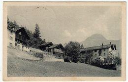RIVA VALDOBBIA - VALSESIA CA' D'JANZO E ALBERGO FAVRO - VERCELLI - 1922 - Vedi Retro - Formato Piccolo - Vercelli