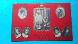 Romania Rumanie Bucuresti Familia Regala Regele Carol Si Regina Carmen Sylva ... Litografie 1908 - Rumania