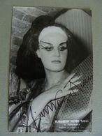 Elisabeth Payer Tucci Foto Autografo  Turandot Arena Di Verona 1980  FOTO Bisazza  TEATRO Théâtre STAGIONE LIRICA OPERA - Théatre & Déguisements
