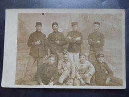 """Militaria - Photo Carte - Oldebrock - Tous Ces Hommes étaient De Ans Liège """"Voie Dos"""" - Circulé: 1915 - 2 Scans - Guerre 1914-18"""