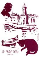 Brassens. Le Chat Libre. Dessin De E. Battista. (Chat, Pipe). - Illustrateurs & Photographes