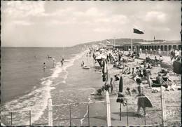 CPA Deauville Strand Und Promenade 1964 - Non Classés