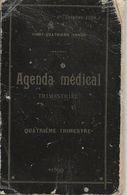 Agenda Médical 1899 Quatriéme Trimestre - Kalender