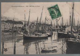 CPA 17 ROYAN Le Port - N° 85 MTIL, Voyagée, écriture Plume, Timbrée, 1910, DD - Royan