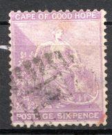 CAP DE BONNE ESPERANCE (Colonie Britannique) -1864-76 - N° 16 - 6 P. Violet - Sud Africa (...-1961)