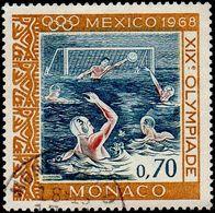 Monaco Obl. N°  739 Jeux Olympiques MEXICO - Water-polo - Monaco