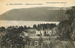 028 270 - CPA - France (39) Jura - Jura-Touriste - Lac Et Château De Chalain - Other Municipalities