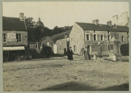 Manche . Lessay . Café épicerie Quincaillerie L. Ourselin . Circa 1910 . - Lieux