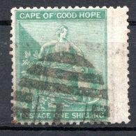 CAP DE BONNE ESPERANCE (Colonie Britannique) -1864-76 - N° 17 - 1 S. Vert - Sud Africa (...-1961)