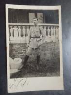 Militaria - Photo Carte - Soldat - Spa Liège - 2 Scans - War 1914-18