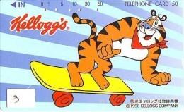 KELLOGG'S Sur Telecarte (3) - Advertising