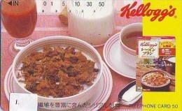 KELLOGG'S Sur Telecarte (1) - Advertising