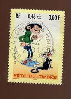 France 2001 - Oblitéré -  Y&T N° 3370 Scanné Recto Verso - Fête Du Timbre 2001 - Gaston Lagaffe - Used Stamps