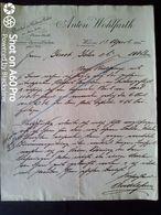 1905 WIEN (VIENNA) - ANTON WOHLFARTH -  (ARTICOLI PER MODA E ABITI) - Österreich
