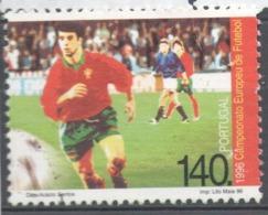 Portugal 1996 Used Football, Soccer, European Football Championship, England - Usado