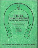 """""""T'es O.K. (t'es O.K., T'es Bath, T'es In)(you're O.K., You're Smart, You're In) Ottawan - Musik & Instrumente"""