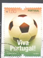 Portugal 2012 Used Football, Soccer, European Football Championship, Poland & Ukraine - Usado