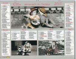 ALMANACH DU FACTEUR - 2015 - DÉPARTEMENT 80 SOMME - EDITIONS OLLER - Calendars