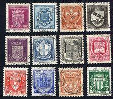 France N°526/37 Oblitéré, Qualité Superbe - 1941-66 Armoiries Et Blasons