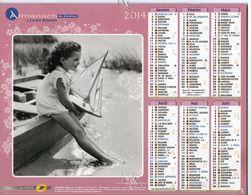 ALMANACH DU FACTEUR - 2014 - DÉPARTEMENT 80 SOMME - EDITIONS J.CARTIER BRESSON - Calendars