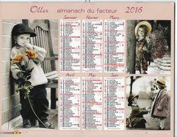 ALMANACH DU FACTEUR - 2016 - DÉPARTEMENT 80 SOMME - EDITIONS OLLER - Calendars