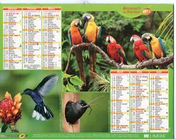 ALMANACH DU FACTEUR - 2013 - DÉPARTEMENT 80 SOMME - EDITIONS LAVIGNE - Calendars