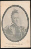 ROUWKAART  FEUE S.M. MARIE HENRIETTE REINE DES BELGES  DECEDEE A SPA LE 19 SEPT 1902 - Obituary Notices