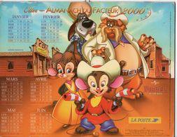 ALMANACH DU FACTEUR - 2000 - DÉPARTEMENT 80 SOMME - EDITIONS OLLER - Grand Format : 1991-00