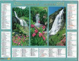 ALMANACH DU FACTEUR - 2012 - DÉPARTEMENT 80 SOMME - EDITIONS OLLER - Calendars