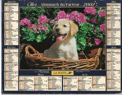 ALMANACH DU FACTEUR - 2002 - DÉPARTEMENT 80 SOMME - EDITIONS OLLER - Calendars
