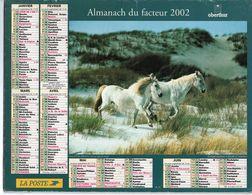 ALMANACH DU FACTEUR - 2002 - DÉPARTEMENT 80 SOMME - EDITIONS OBERTHUR - Calendars