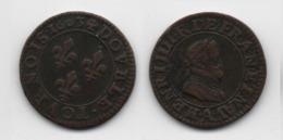 + FRANCE    + DOUBLE TOURNOIS 1603 A  + TRES TRES BEAU + SUPERBE + - 987-1789 Monnaies Royales