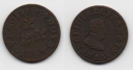 + FRANCE    + DOUBLE TOURNOIS 1605 A  + TRES BEAU + - 987-1789 Monnaies Royales