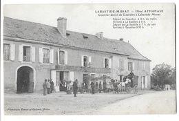 LABASTIDE MURAT (46) Hotel ATHANASE Courrier De Gourdon à Labstide Murat Petit Attelage - Francia