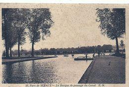2020 - 06 -HAUTS DE SEINE - 92 - SCEAUX - Parc De - La Barque Au Passage Du Canal - Sceaux