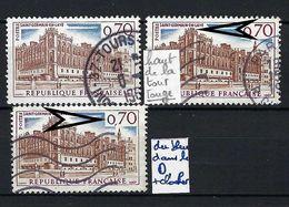 FRANCE 1966: Variété Du Y&T 1501  2 Variétés Distinctes - Errors & Oddities