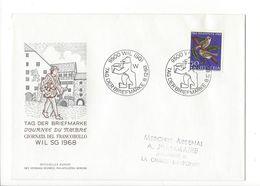 26033 - Tag Der Briefmarke Pro Juventute Wil 1968 Pour La Chaux-de-Fonds - Pro Juventute