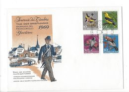 26038 - Journée Du Timbre Yverdon 1969 Pro Juventute 07.12.1969 - Pro Juventute