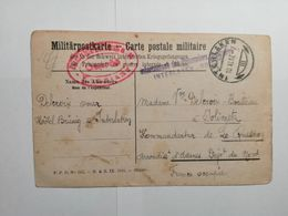 Carte Postale Militaire Suisse 1917 - Covers & Documents