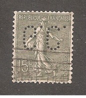 Perforé/perfin/lochung France No 130 G.C. Genevet Et Cie - Perforés