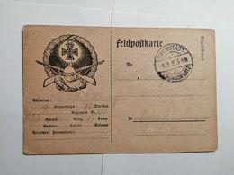 Deutsches Reich  Feldpostkarte 1915 - Allemagne