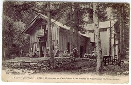 AOSTA COURMAYEUR CHALET RESTAURANT PLAN GORRET - Aosta