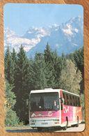 TITRE DE TRANSPORT MAGNÉTIQUE QUE POUR LA COLLECTION - Bus