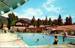 California Idyllwild Sportland Park Swimming Pool 1966 - United States