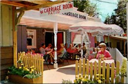 California Idyllwild Sportland Park The Carriage Room Patio 1966 - United States