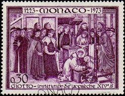 Monaco Obl. N°  934 - Institution De La Crèche, Le 30c - Monaco