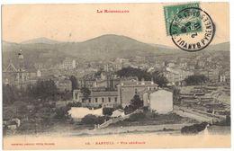 """LE ROUSSILLON BANYULS SUR MER  : """" VUE GENERALE """" - Circulé NARBONNE - Banyuls Sur Mer"""