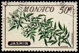 Monaco Obl. N°  520 - Fleur. Jasmin - Monaco